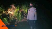 Kapolsek Pino, IPTU Saryono melaporkan dari lokasi tanah longsor
