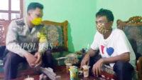 Monitoring dan evaluasi pencegahan Covid-19 di Dusun Tengah, Selasa sore