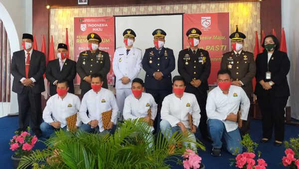 60 narapidana di Lapas Kelas II B Muntok memperoleh remisi umum dalam rangka HUT ke-75 Kemerdekaan RI
