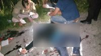 Demas Laira, wartawan KabarDaerah.com ditemukan tewas mengenaskan di pinggir jalan dengan tujuh luka bekas tusukan, Kamis dinihari