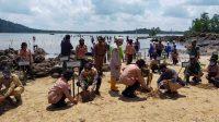 Gubernur, Danrem dan Kapolda Babel memimpin bakti sosial penanaman mangrov di Bukit Telaga Tujuh, Pantai Bembang