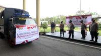 Kepolisian Daerah Kalimantan Barat kembali mendistribusikan paket bantuan sembako kepada masyarakat miskin dan terdampak Covid-19