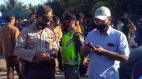 TNI, Polri, pemerintah dan tenaga kesehatan di Kabupaten Bengkulu Selatan, Provinsi Bengkulu, makin gencar mendatangi pasar tradisional
