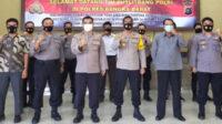 Tim Puslitbang Polri bersama Kapolres dan PJU Polres Bangka Barat