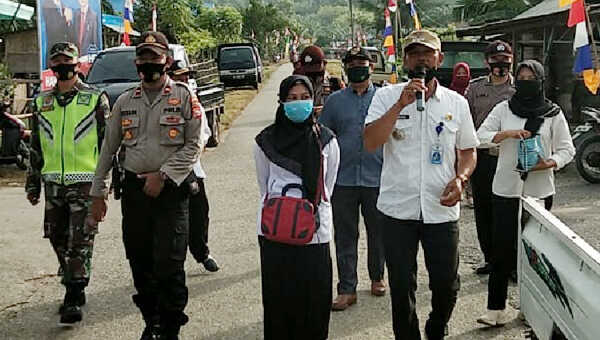 Tripika Kedurang Ilir, Kabupaten Bengkulu Selatan, Provinsi Bengkulu, menyambangi Pekan Rabu di Desa Air Sulau, tadi pagi