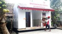MCK umum ini adalah bantuan Pengurus Daerah Bhayangkari Bengkulu dalam rangka memperingati Hari Gerak Bhayangkari ke-68