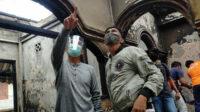Kapolres Bangka Barat AKBP Fedriansah SIK memimpin olah TKP di lokasi kabakaran