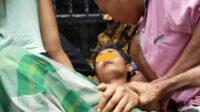 Sang Pengemudi, Didi bin Ruat, mengalami luka lecet dan tidak sadarkan diri, sehingga harus dilarikan ke RSUD Hasanuddin Damrah, Manna