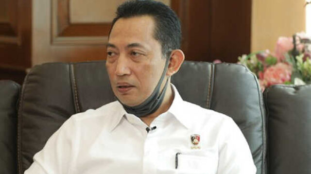 Calon Kapolri Komisaris Jenderal Listyo Sigit Prabowo