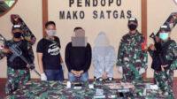 Bandar, pengedar dan barang bukti diamankan Satgas Pamtas Yonif 642 di Mako Satgas. Untuk penyelidikan lebih lanjut, kasus ini akan dilimpahkan ke Polda Kalimantan Barat dan BNN Provinsi Kalimantan Barat