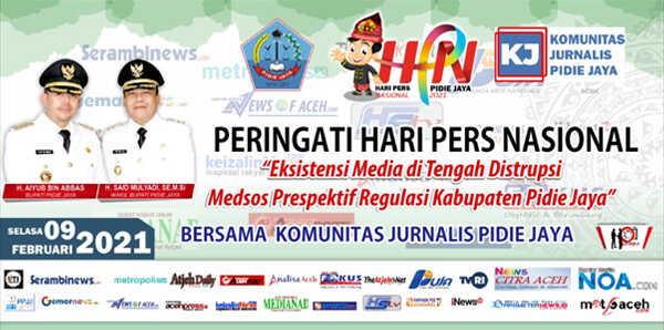 Mari sukseskan peringatan HPN ke-75 di Kabupaten Pidie Jaya