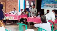 Musdessus ini dihadiri segenap masyarakat, BPD, pemerintah desa setempat dan unsur Tripika Pino Raya, Rabu siang