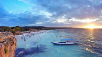 Pantai Tanjung Bira terletak di Jalan Tanjung Bira, Kecamatan Bonto Bahari, atau sekitar 40 kilometer dari ibukota Kabupaten Bulukumba