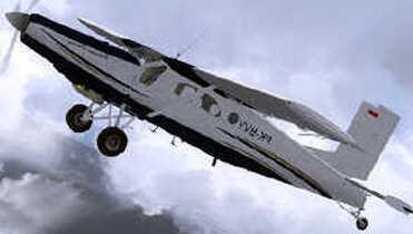 Pesawat Pilatus tipe ringan PC-6 bernomor registrasi S1-9364 PK BVY ini disandera saat akan take off membawa tiga penumpang sipil warga asli Papua