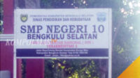 SMP Negeri 10 Bengkulu Selatan. Diduga ada Pungli di sekolah ini