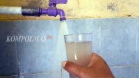 Penampakan air minum versi PDAM Tirta Manna yag dijual ke konsumen